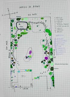 Arte y jardiner a proyecto de un jard n acu tico for Modelos de estanques