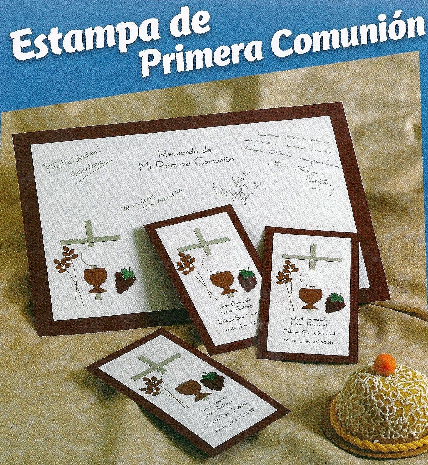 Como hacer tarjetas para primera comuni n - Como hacer tarjetas para comunion ...