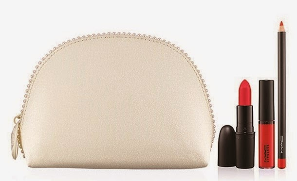 MAC Keepsakes Red Lip Bag