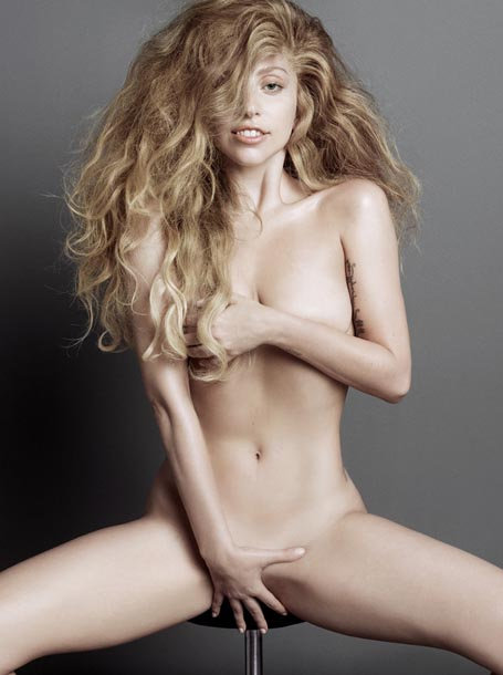 Lady Gaga Naked