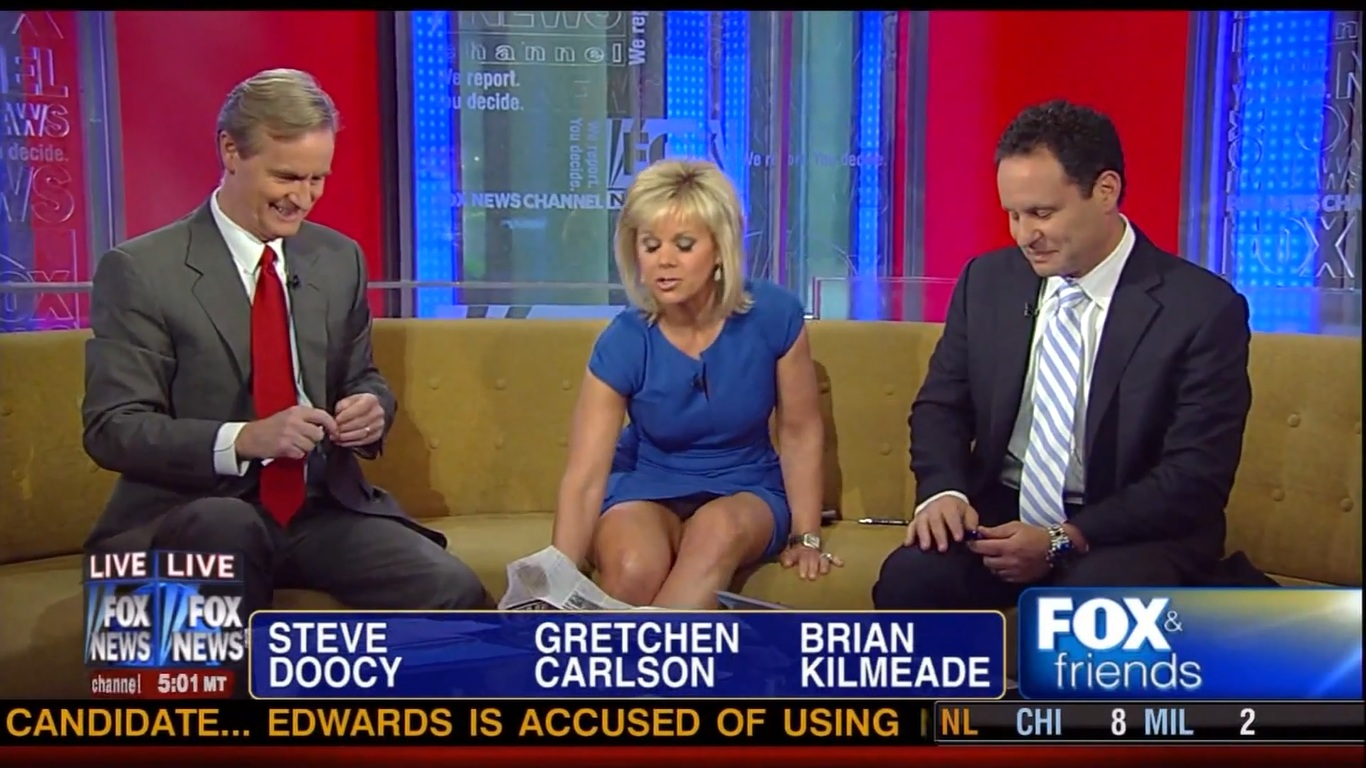 Fox newscaster upskirt