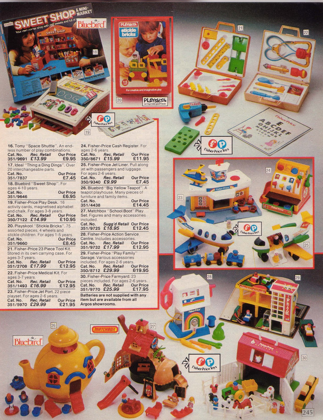 Lost Entertainment The 1985 Spring Amp Summer Argos Catalogue