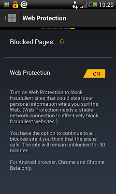 Norton Mobile Security: Protecting while you browse