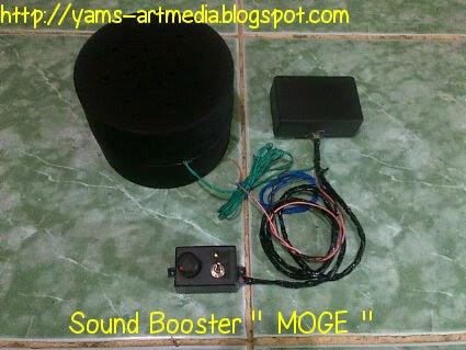 sound booster suara moge
