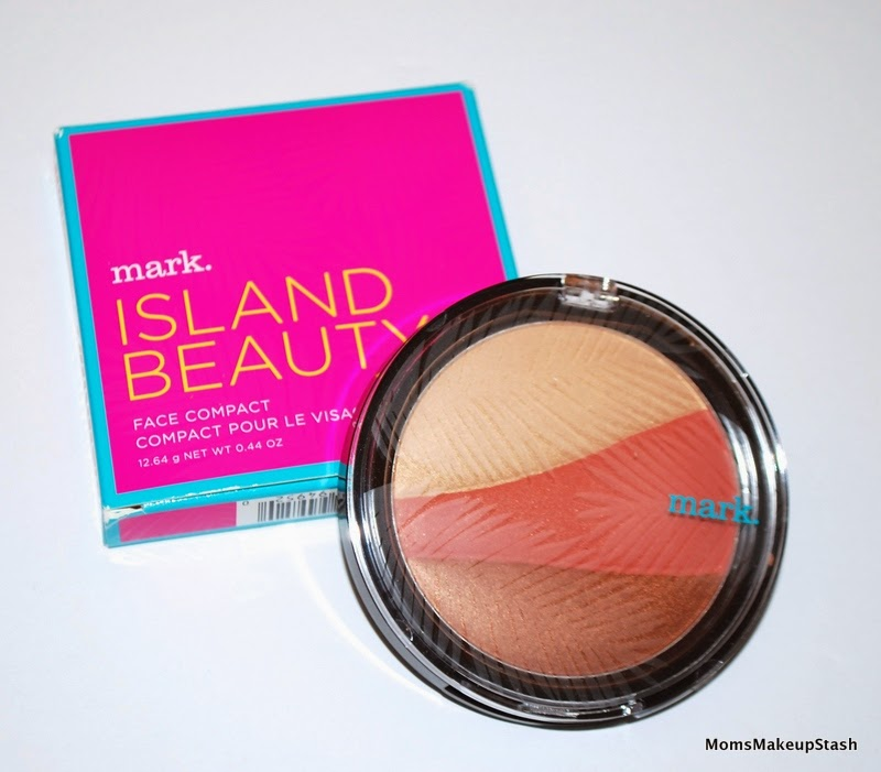 mark cosmetics review, mark Spring 2014, Saint Barts Soleil Instant Vacation, mark Island Beauty Face Compact, mark Face Compact review