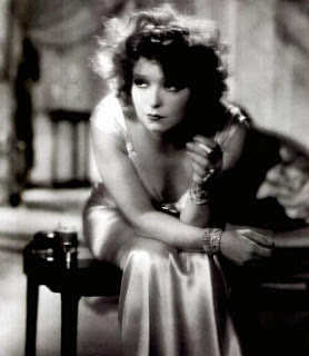 Clara Bow Smoking