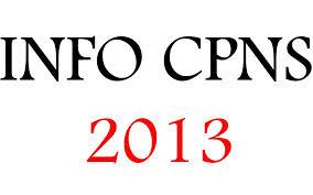 Jadwal Penerimaan Pendaftaran CPNS 2013 Terbaru