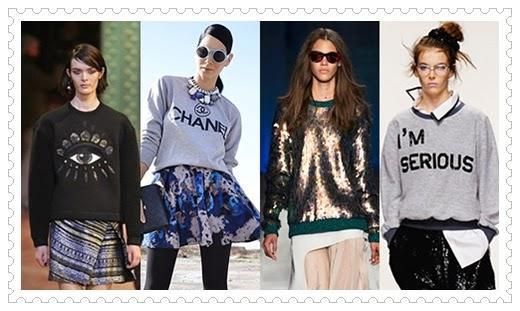 Damen Sweatshirt Modelle 2014