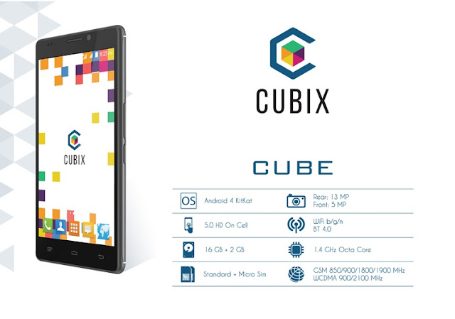 Cherry Mobile Introduces Cubix Cube, Exclusive Online Octa-core Smartphone for P4,490