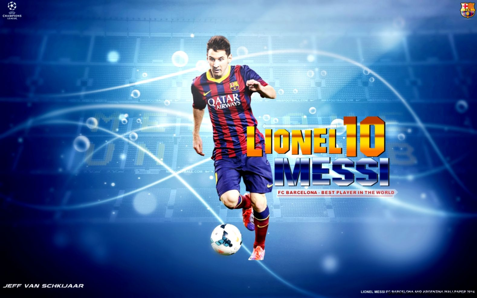 Lionel Messi Logo Wallpapers