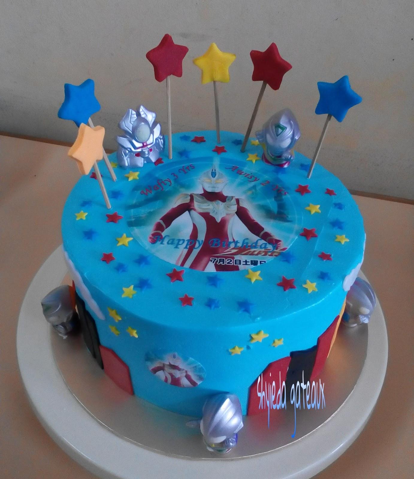 Ultraman Birthday Cake Design : Shyieda Gateaux Homemade Melaka: Ultraman cake
