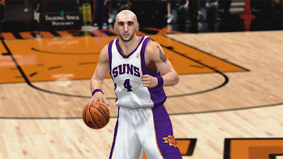 NBA 2K13 Marcin Gortat Face Update NBA2K