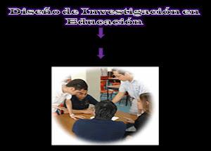 Diseño de investigación en la educación