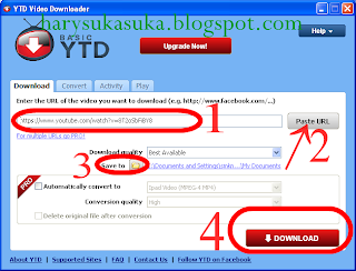 Cara Download Youtube Dengan YTD | YouTube Downloader