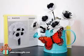 anemone paper flower tutorial