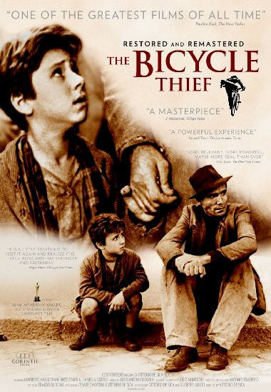 a critical analysis of the movie the bicycle thief directed by vittorio de sica The bicycle thief (1949) directed by vittorio surely the most universally praised movie produced anywhere on the planet vittorio de sica.