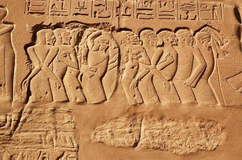 كيف تعامل المصريون القدماء مع الأسرى
