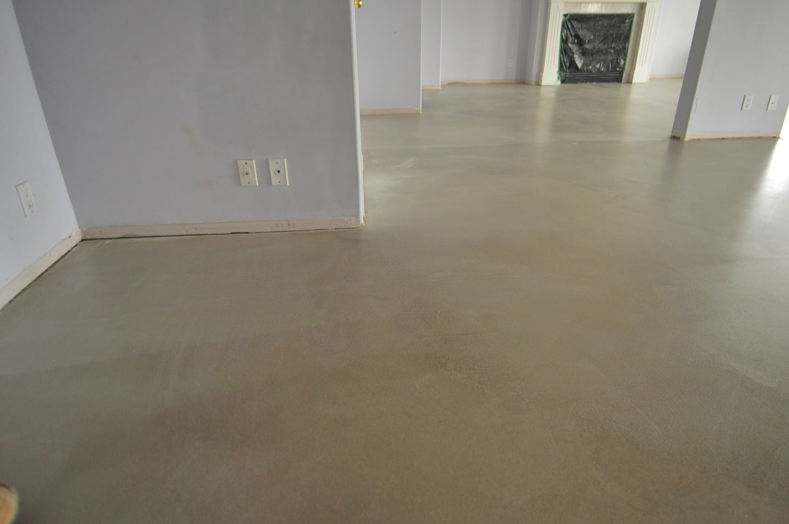Mode concrete cool and modern concrete floors for Flor flooring