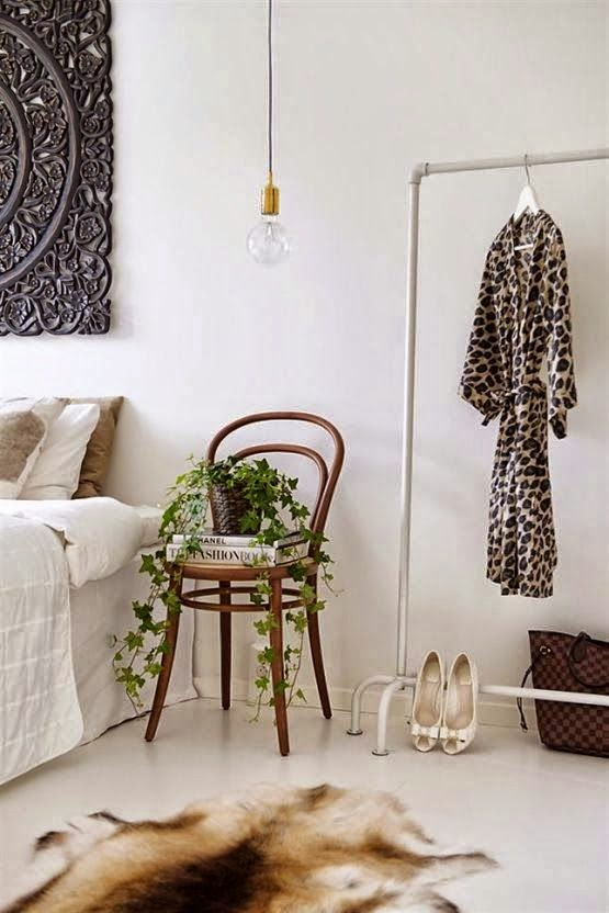 silla dormitorio para mesita noche