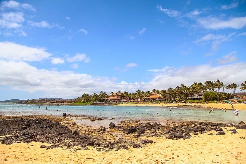 poipu beach photo