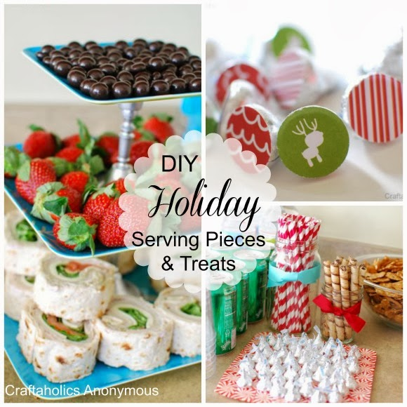 DIY Holiday Serving Pieces and Treats from Craftaholics Anonymous