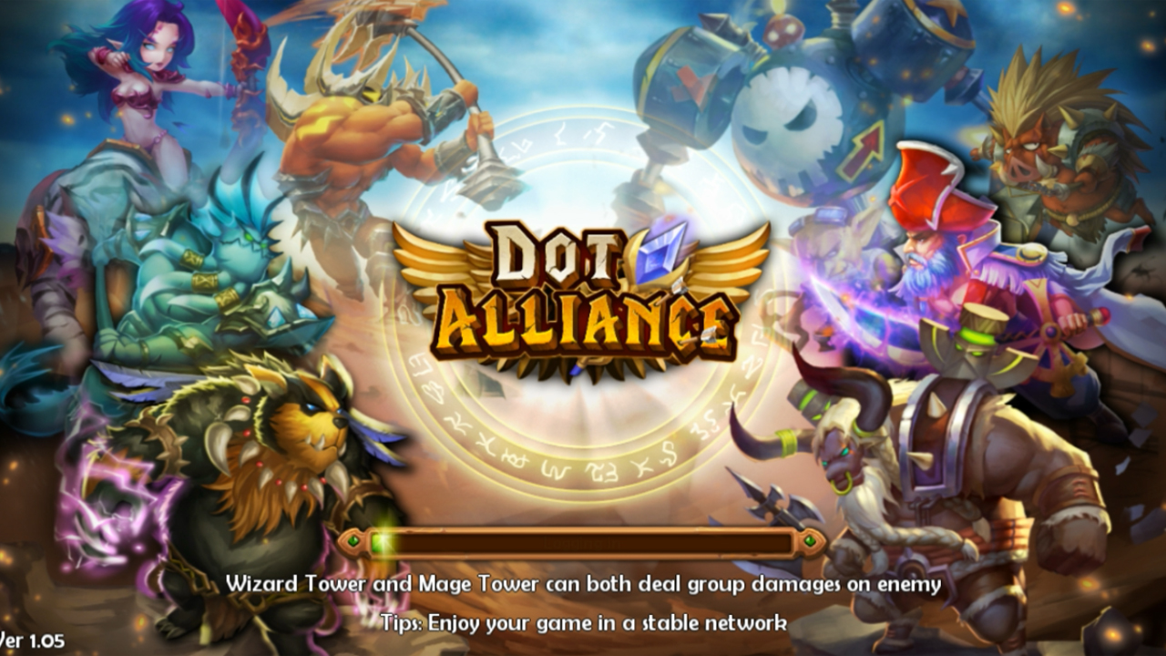 DotAlliance Gameplay IOS / Android