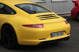 Spyshots: Porsche 911 Carrera 4S