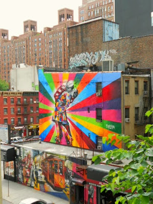 Graffiti High Line New York