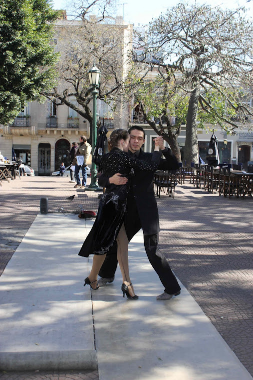 Tango på Plaza de Dorrego