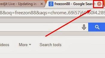 menampilkan kembali halaman browser yang terlanjur ditutup