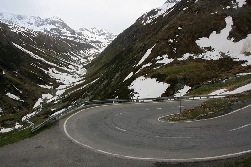 Passo dello Stelvio — The Stelvio Pass is located in Italy and is named for its proximity to the town of Stelvio . It is situated at 2757 meters above sea level and is one of those most spectacular places on Earth.