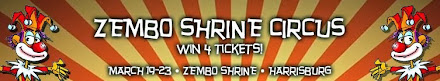 Zembo Shrine Circus Giveaway