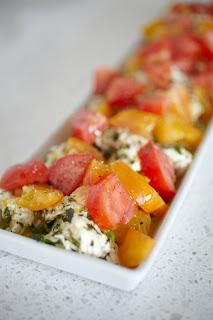 Ottolenghi marinated mozzarella