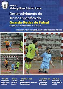 Acção Formação MFC | Desenvolvimento do Treino Específico Guarda-Redes de Futsal