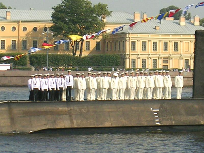 Санкт-Петербург, День ВМФ, Парад кораблей
