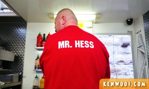 copenhagen hotdog mr hess