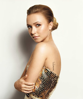 Celebrity Hayden Panettiere Tattoo Picture