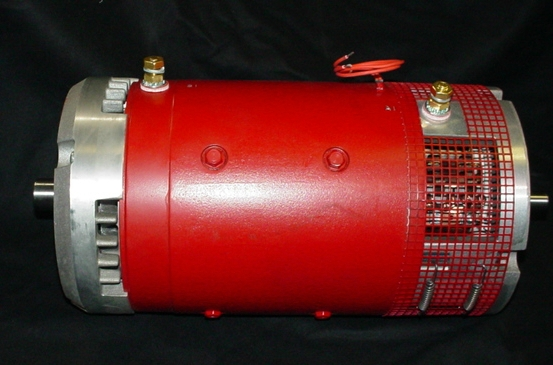 Warp motor for Double ended shaft electric motor