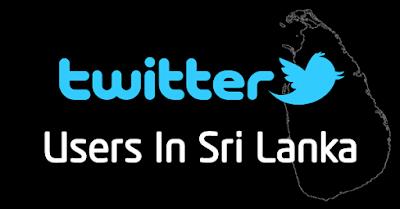 Twitter Users in Sri Lanka