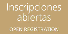 Inscripciones | REGISTRATION