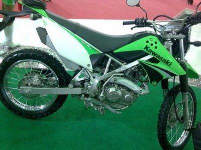 Contoh Modifikasi Kawasaki KLX 150