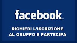 Ritroviamoci su Facebook