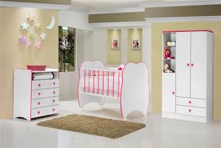 Tapetes usados no quarto do bebê