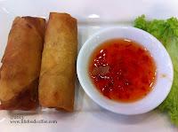 Spring roll from lerk thai restaurant @ woodlands Civic Centre