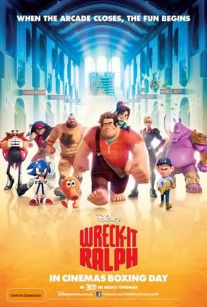Wreck It Ralph 2012 poster