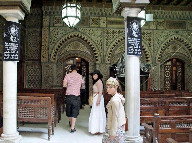 interiores_Iglesia_Colgante_en_el_cairo