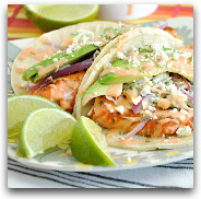 Seared Salmon Healthy Fish Tacos