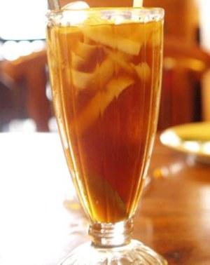 Resep minuman es kelapa muda sisiran gula merah segar nikmat