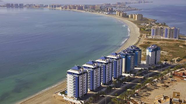 Недвижимость в Испании на побережье Коста Калида в в Ла Манга дель Мар Менор
