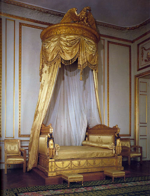 Ceremonial Bedroom of Pauline Borghese c. 1804 Carved, painted and gilded wood British Embassy, Paris